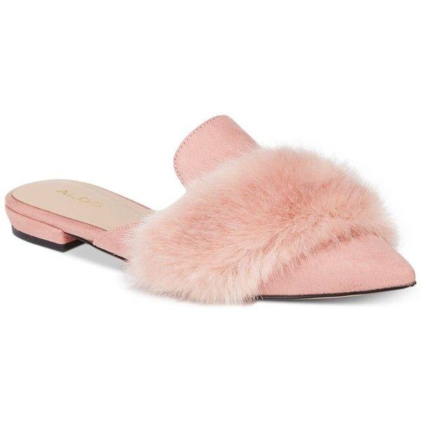 Aldo Dorriety Faux-Fur Mules ($42