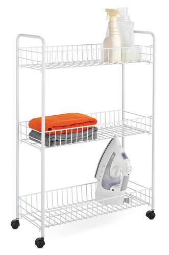 3 Tier Laundry Cart At Menards Laundry Laundry Cart White Laundry Hamper Storage Cart