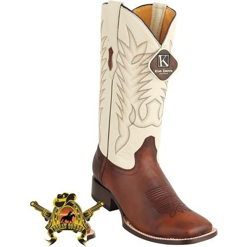 410055af63503 Men's King Exotic Boots Genuine Leather Square Toe Handcrafted -  yeehawcowboy