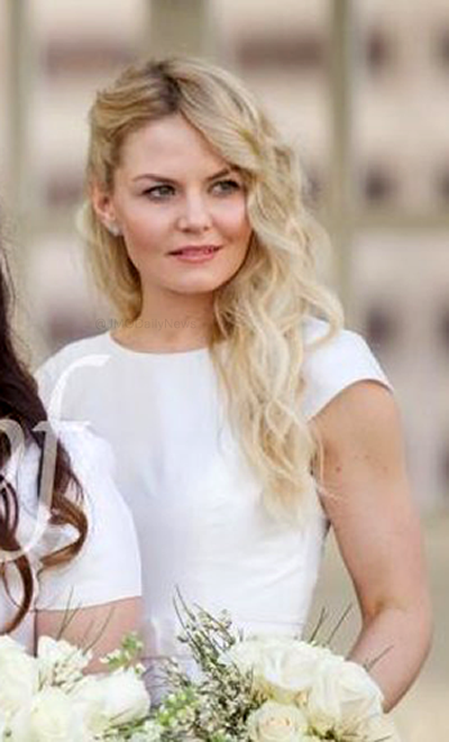 Jennifer Morrison at her brother Daniel's wedding, on March 5 2016, at The St. Anthony Hotel in San Antonio.