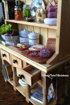 The Teahouse and Pantry at Windy Point Miniatures