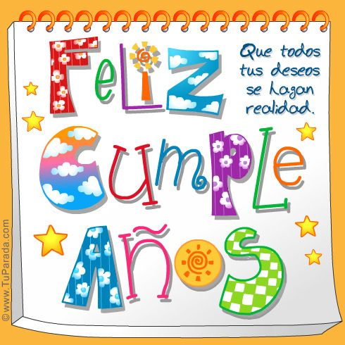Tarjetas de cumple imagenes - Imagui Birthday Pinterest Happy
