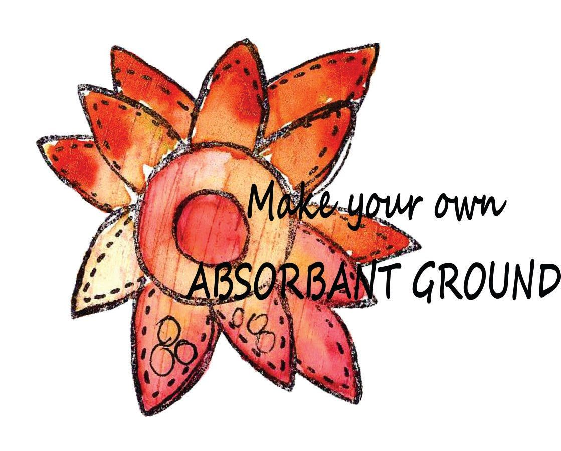 Make Your Own Absorbent Ground For Watercolouring Youtube With