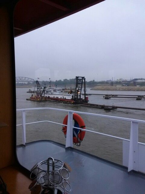 Dredging Operations by the Dredge America | Tow Boats and