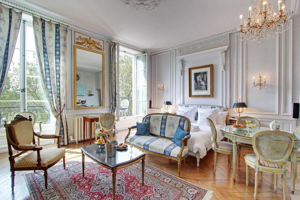 Acacia Paris apartments, Parisian apartment, Luxury