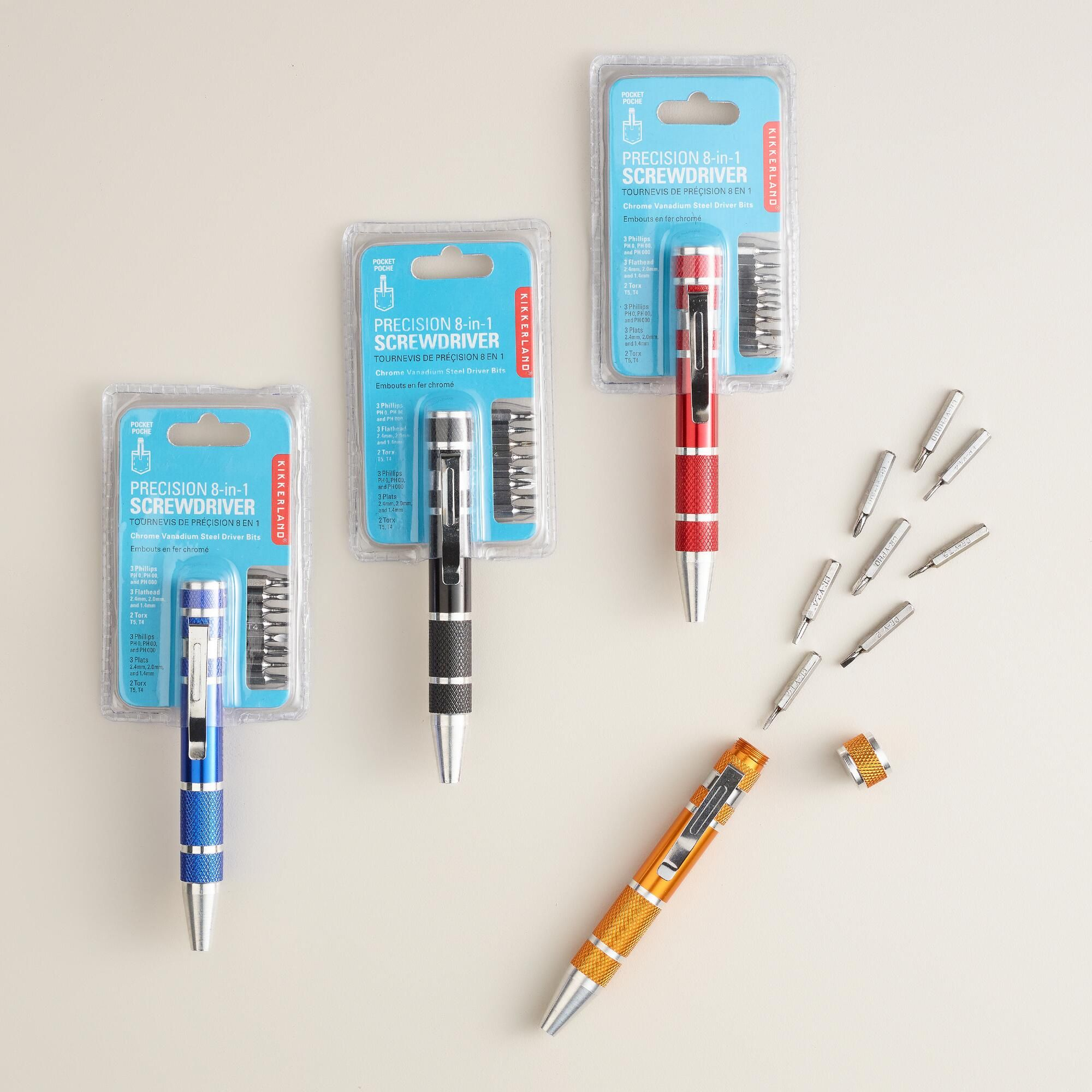 8-in-1 Travel Screwdriver