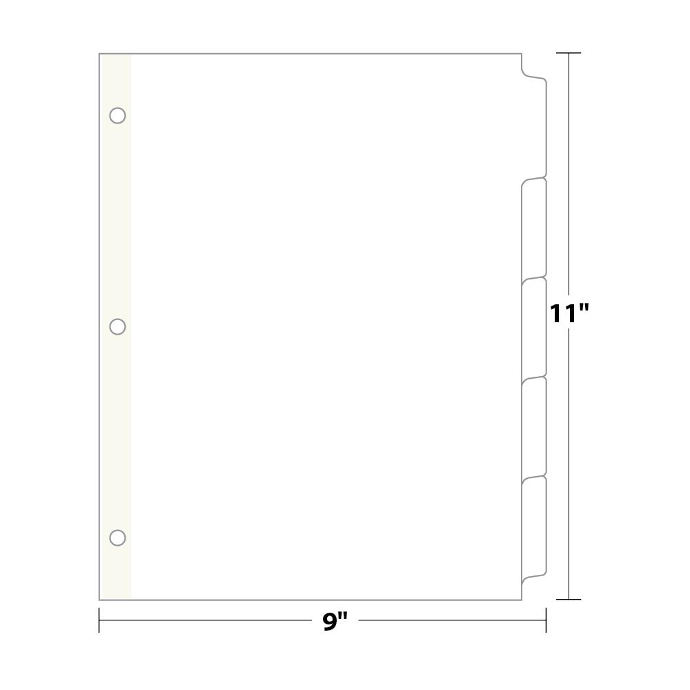 binder divider template - Selo.l-ink.co