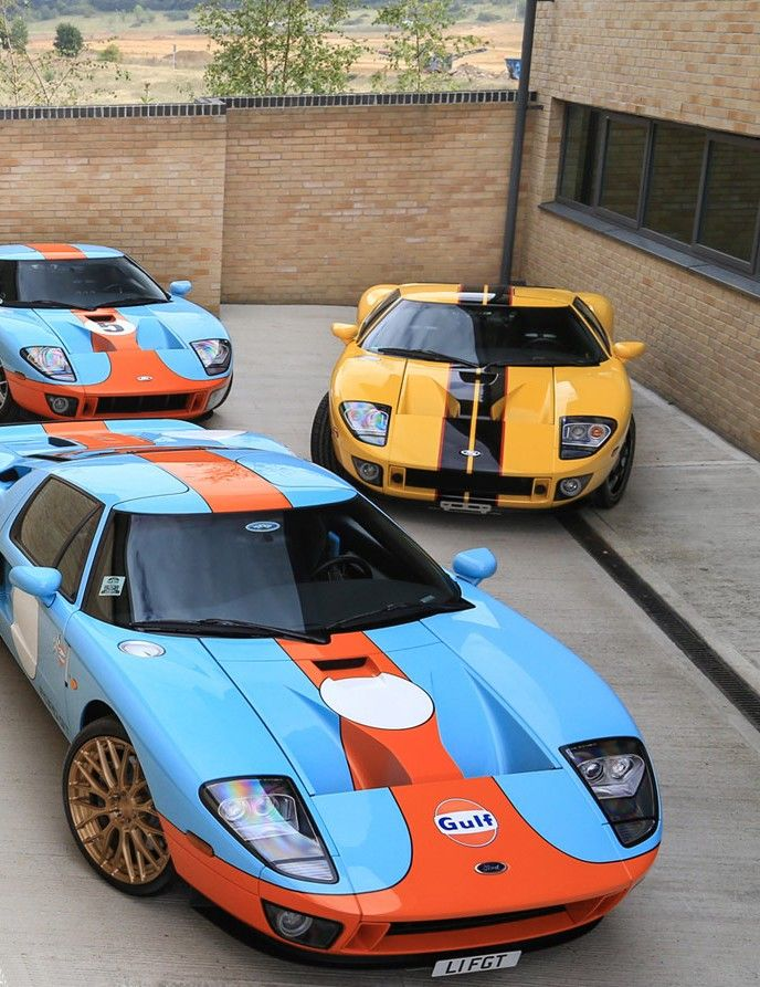 Ford Gt Gulf Livery Ford Gt Gulf Ford Racing Ford Gt