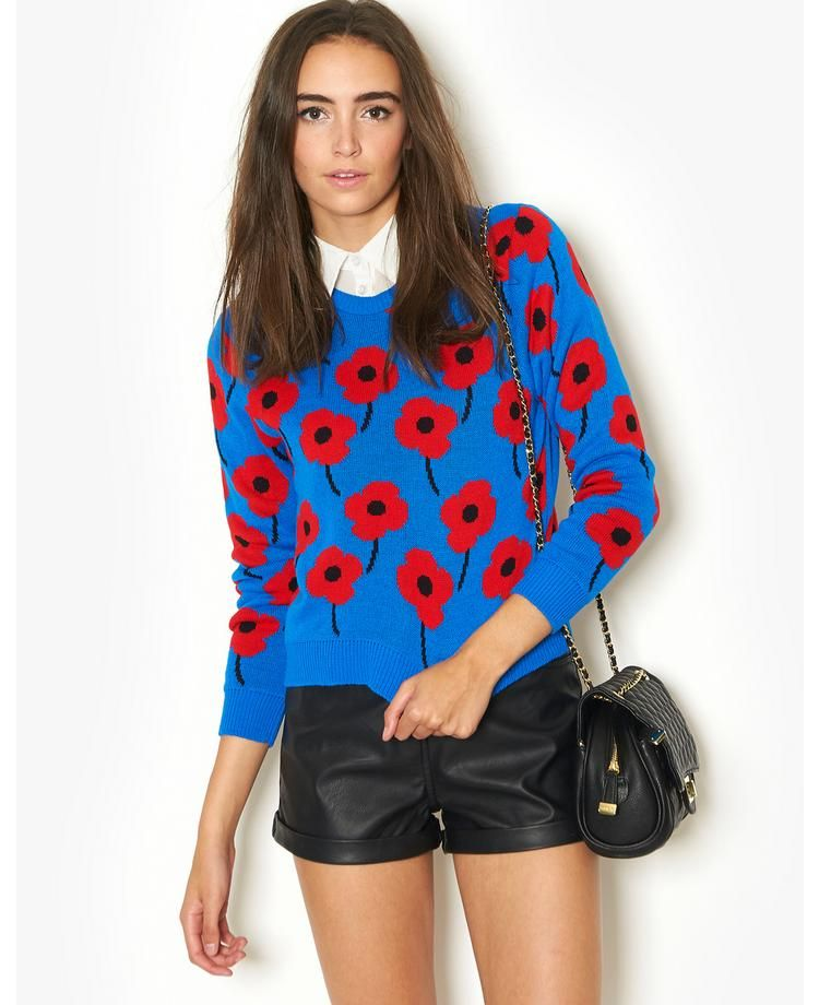 Sweet, fun and quirky. BLONDE & BLONDE Poppy Jumper | BANK Fashion