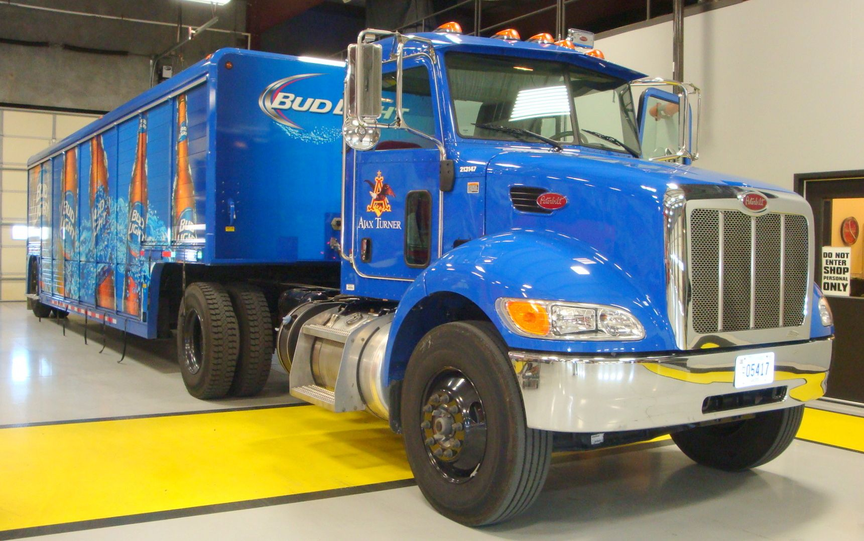 Bud light peterbilt tractor with mickey beverage bodies at ajax bud light peterbilt tractor with mickey beverage bodies at ajax turner anheuser busch transform your mozeypictures Choice Image