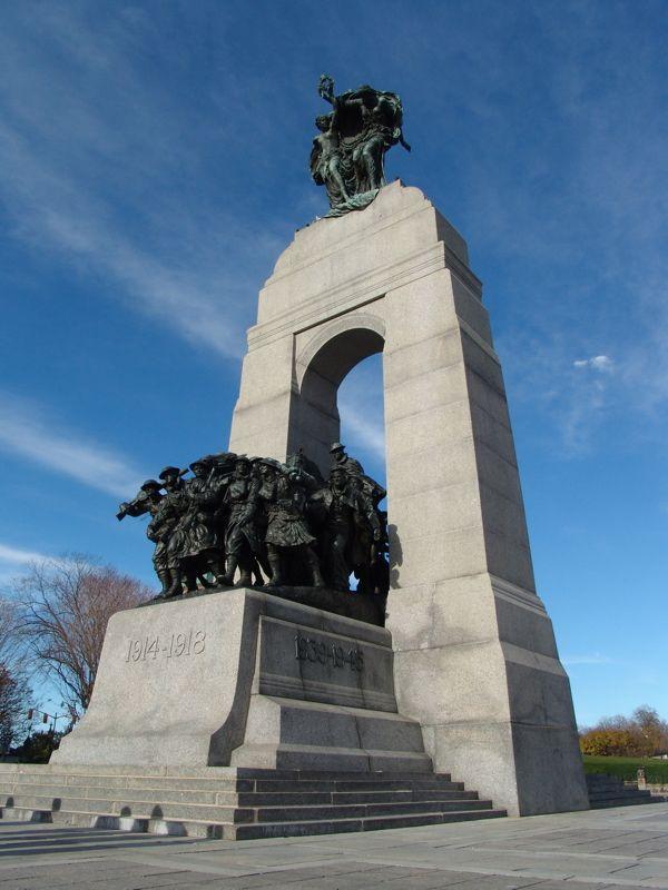 Canadian National War Memorial | War memorial, Canadian army, Canada
