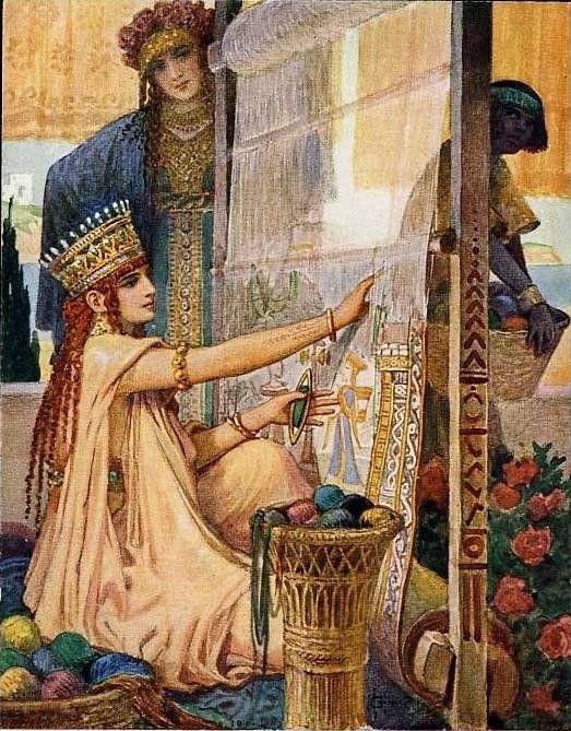 Queen and handmaiden