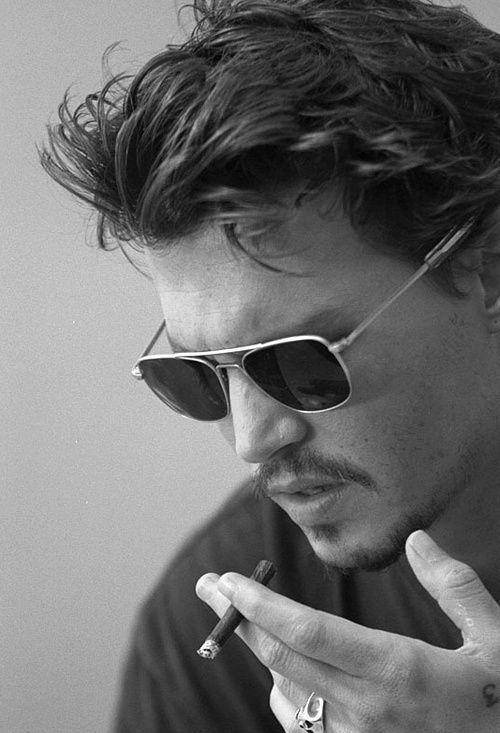 Cigarette Smoke Johnny Depp