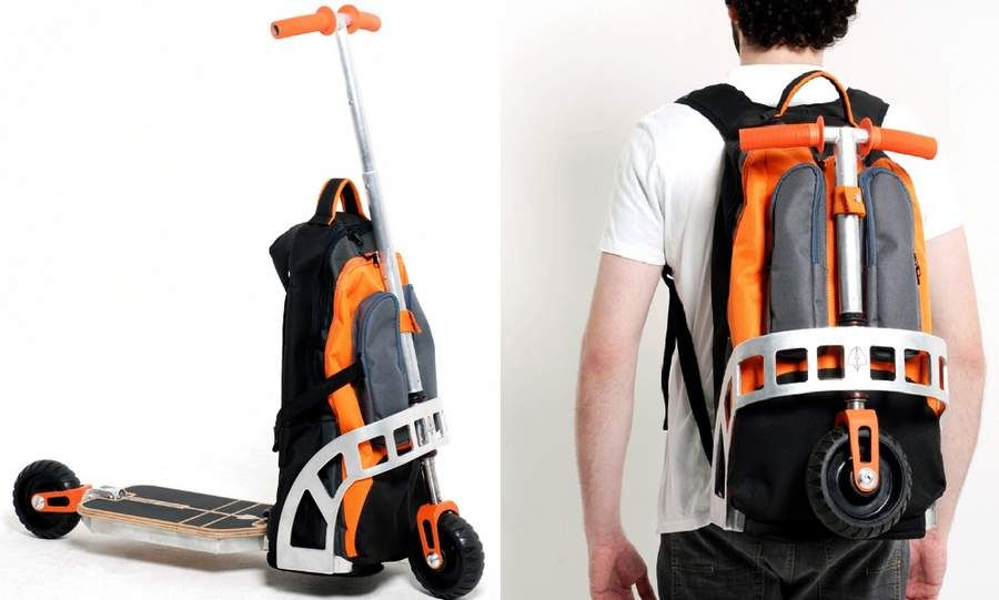 402313efe544 Backpack Scooter | Cool stuff