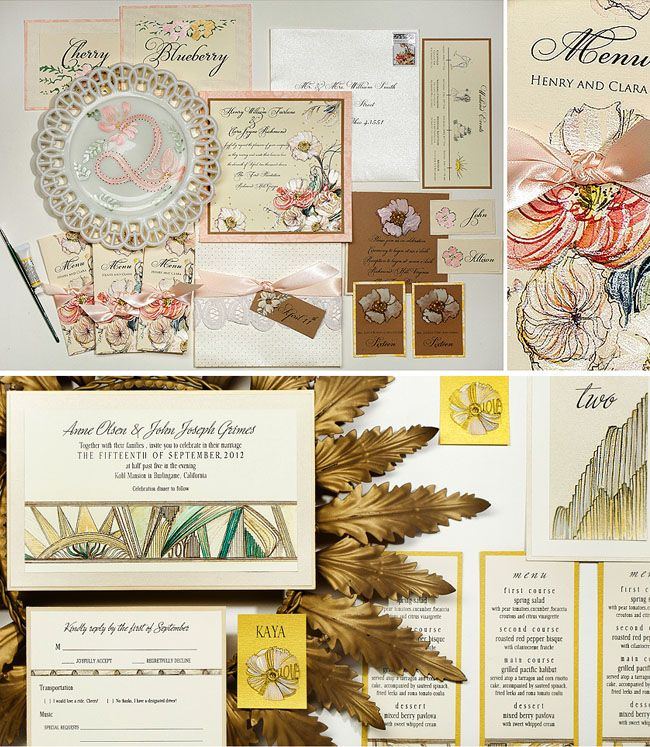 Wedding Invitation Giveaway: New Collection From Momental Designs + A Giveaway