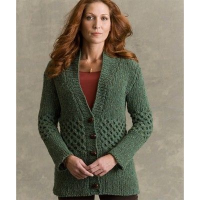 Free Knitting Patterns Alpaca Sweaters : Free Knitting Patterns: Free Knitting Pattern: Cardigan ...