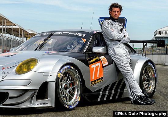 Actor Patrick Dempsey Is A Very Credible Le Mans Series Driver Men