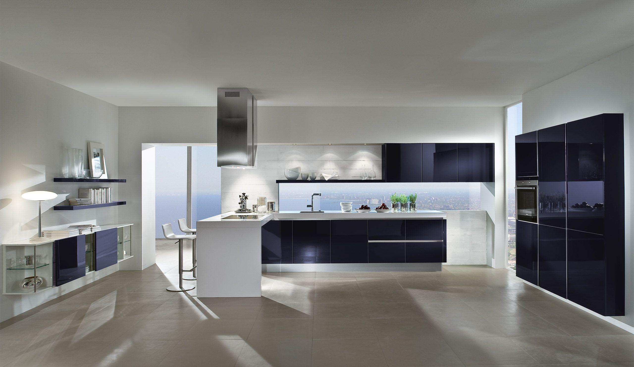 Designküche Peridot Brombeer | Farbenfrohe Küchen | Pinterest ...