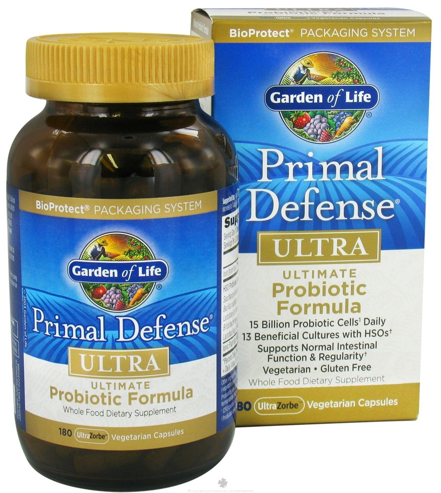 GARDEN OF LIFE Primal Defense ULTRA is the ultimate high