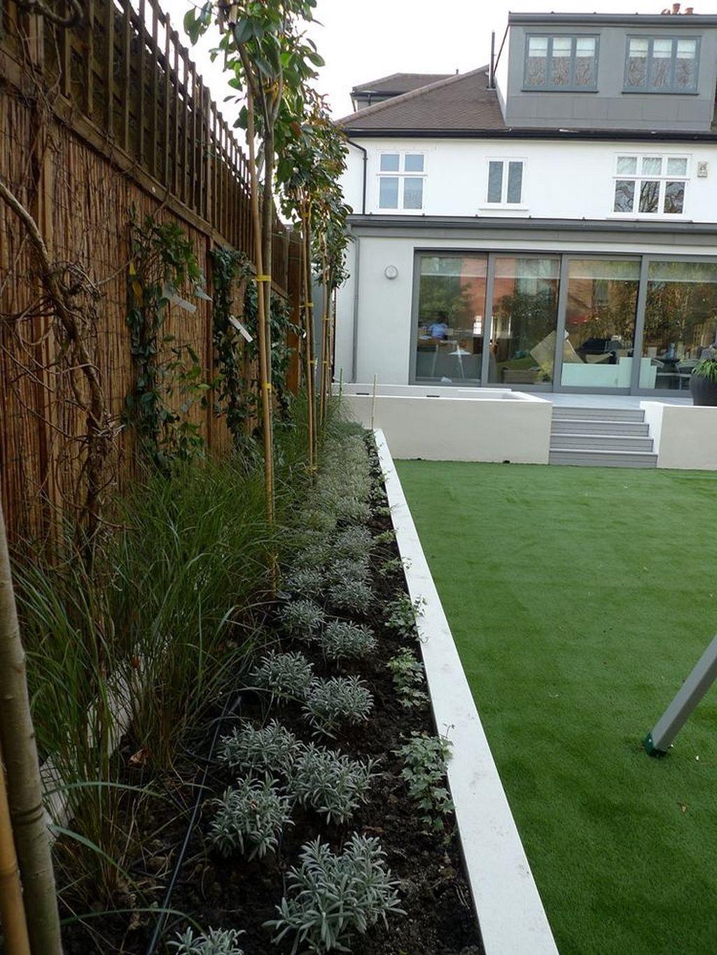 30 great sunken design ideas for your garden and yard for Minimalistischer garten