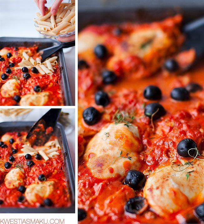 Kurczak Zapiekany Przepis Baked Chicken Recipes Food Cooking