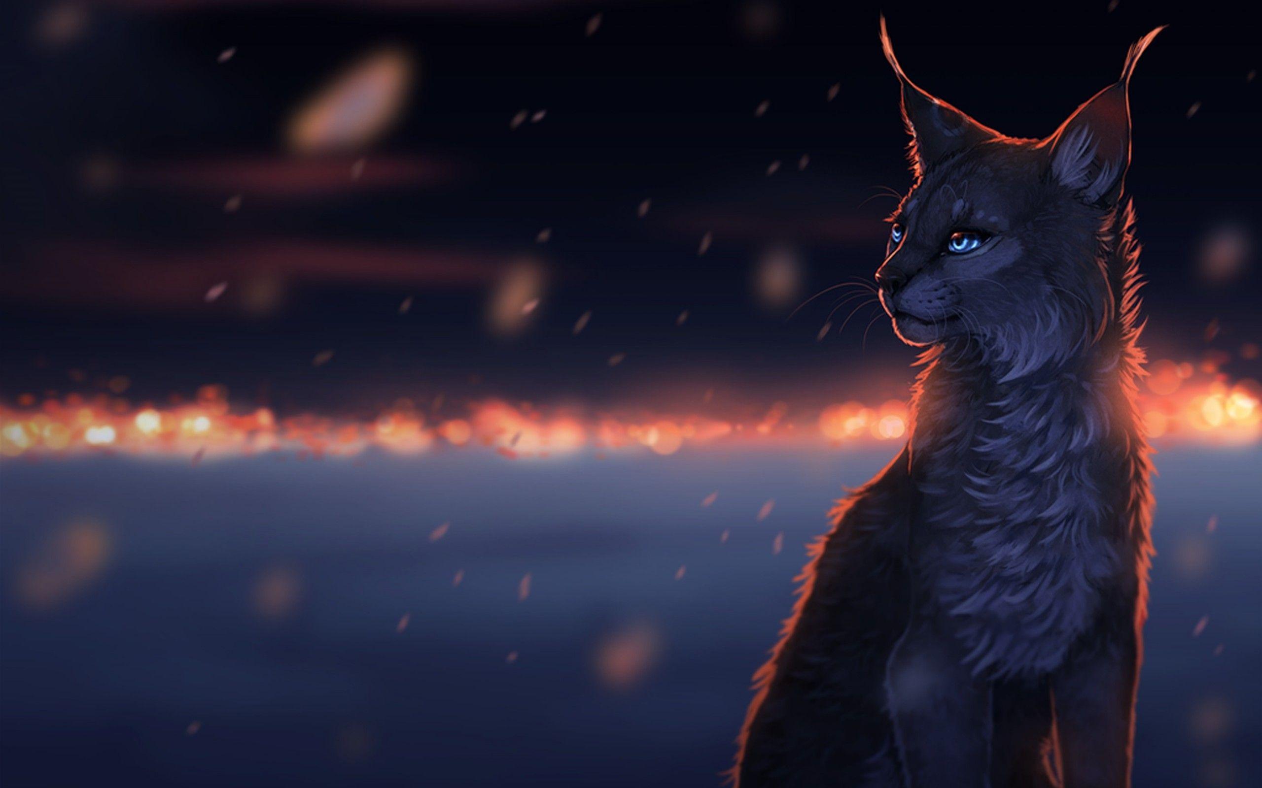 Pictures Of Fantasy Cats Art Cat Dreams Snow Sorrow Drops Cats