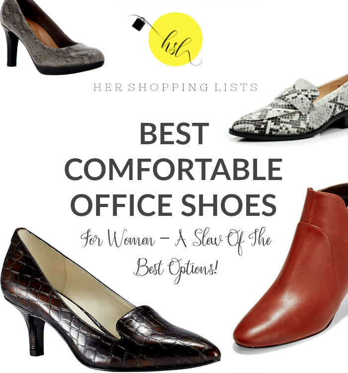 Comfortable Office Shoes For Women - A