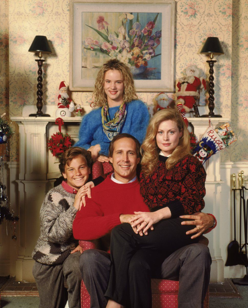 Christmas Vacation Movie Griswolds Cast - chevy chase - beverly d ...