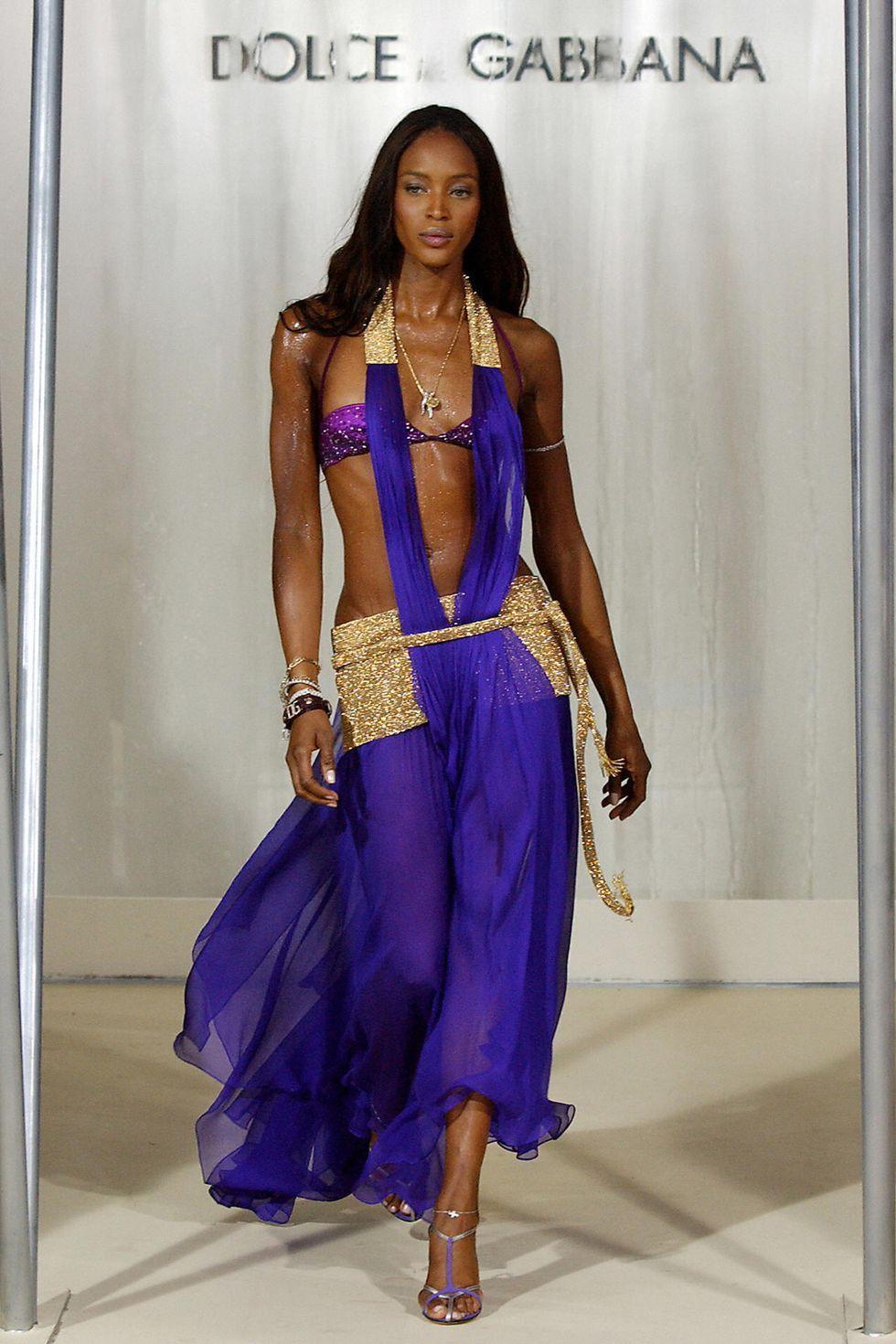 Tiwa Savage, Adut Akech Walk The Runway For Naomi Campbell