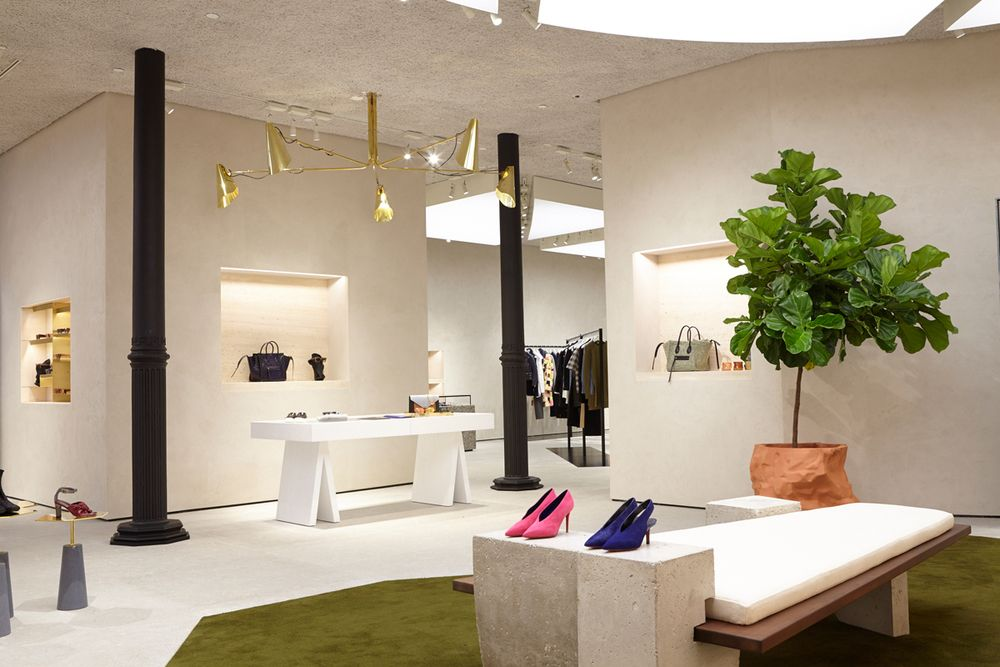 Celine Store In Soho NYC By FOS Retail Interior DesignShop