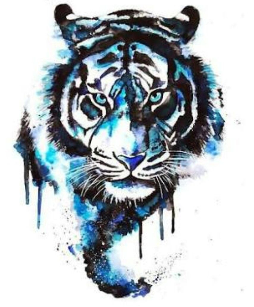 To Remind Me To Be Brave Watercolor Tiger Tiger Tattoo Design Tiger Tattoo