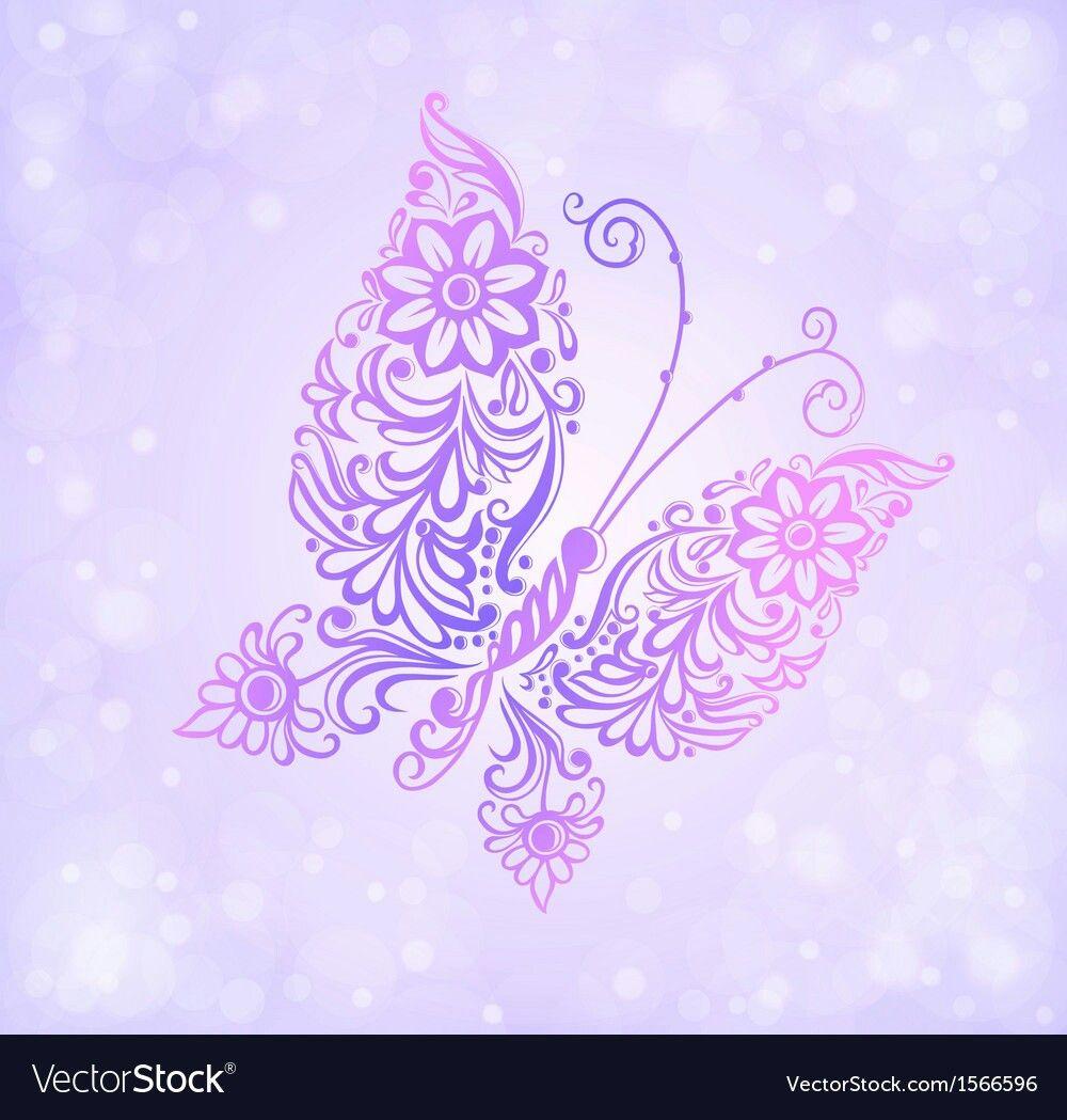 Pin by Stephanie Nestor on Cricut Floral pattern vector