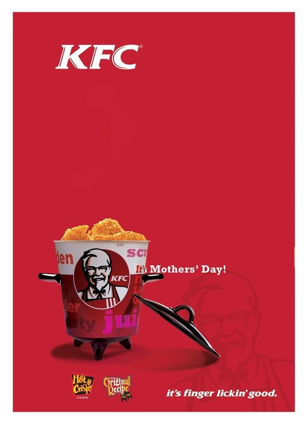 Pin by Stevens & Tate on Mother's Day Advertisments | Kfc ...