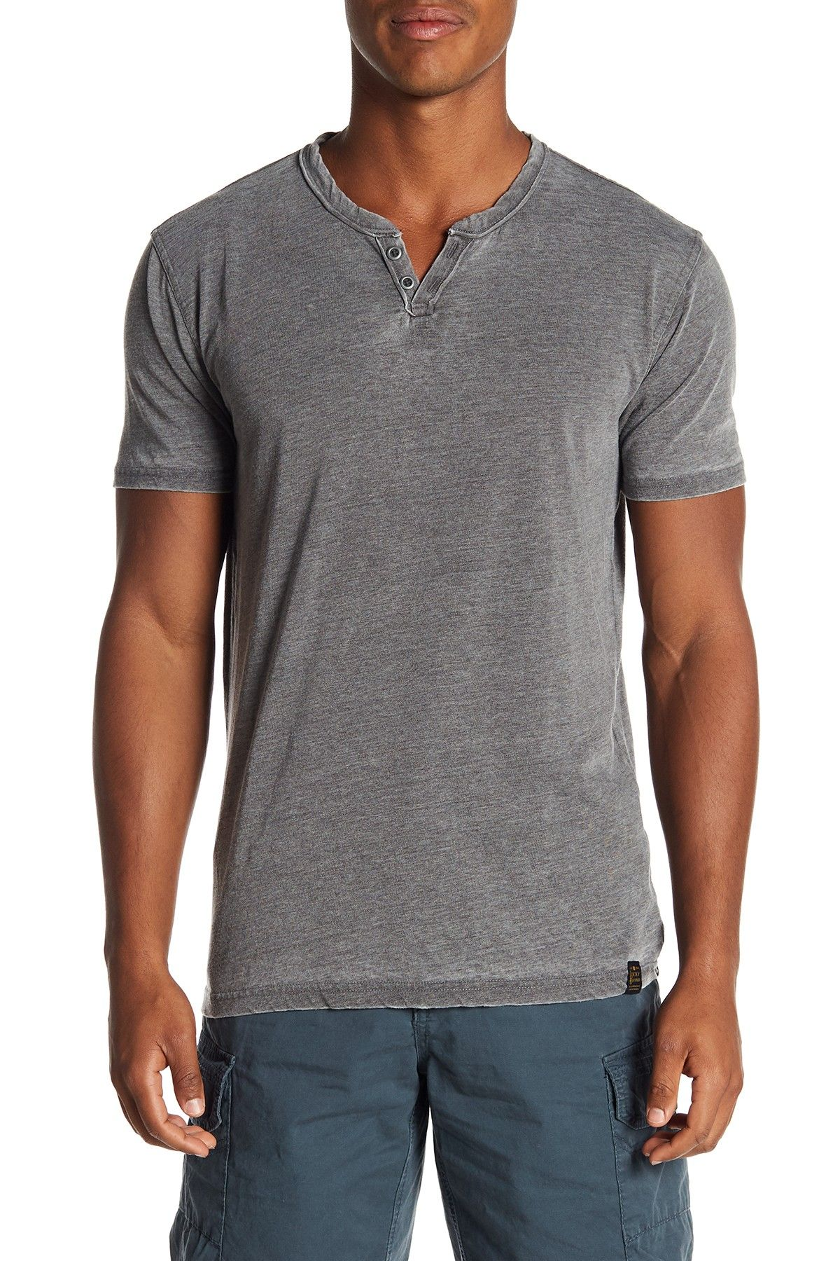 f5072f87a Image of Lucky Brand Short Sleeve Solid Knit Tee Vintage Shorts, Tees,  Shirts,