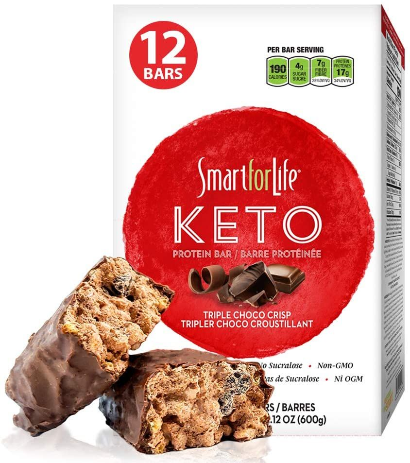 Smart For Life Keto Barstriple Chocolate Ketogenic Barlow Carb Tasty Breakfast Bar Ampmeal Replaceme Amazon Affili Keto Bars Yummy Breakfast Keto Protein Bars