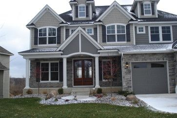 Cultured Stone Exterior Jobs Traditional Minneapolis By Brock White Construction Materials