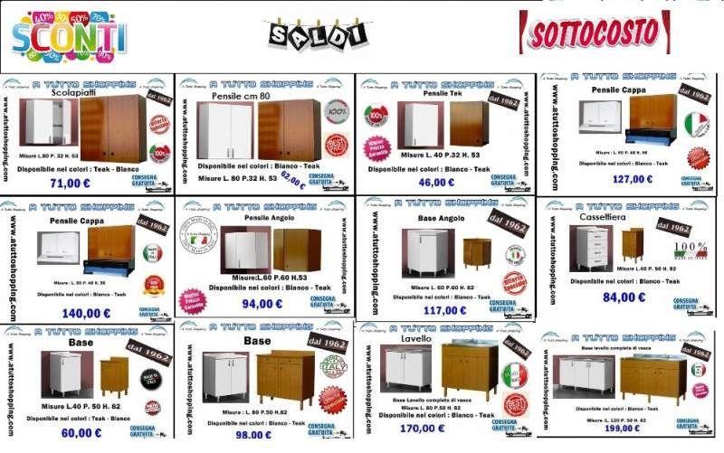 Mobili pensili e basi per cucina | AtuttoShopping | Pinterest