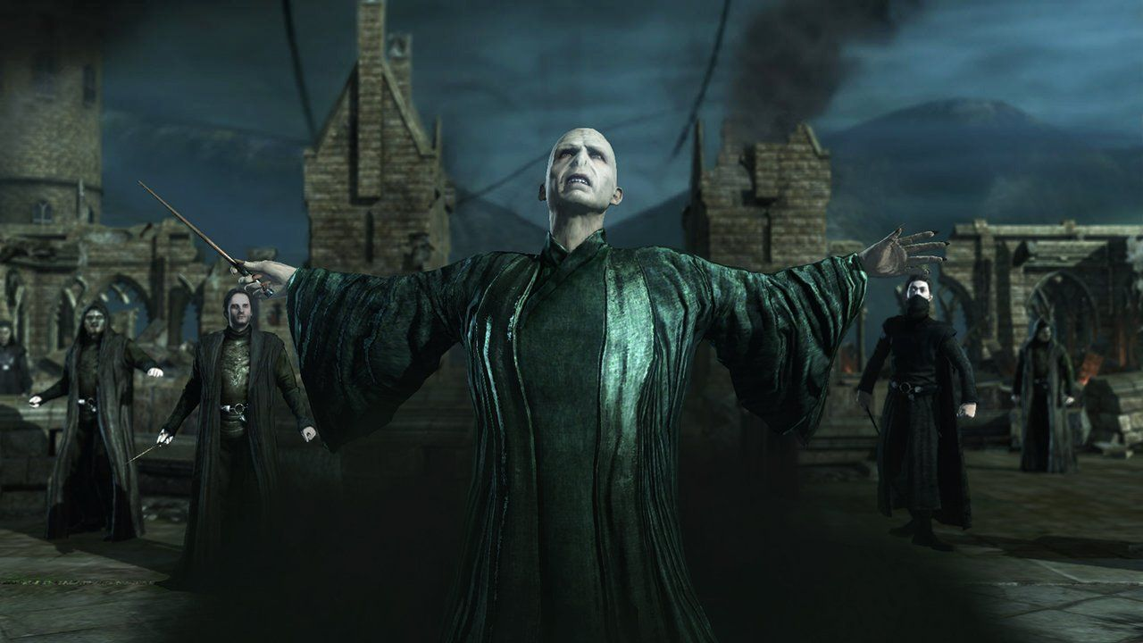 Lord Voldemort Video Game Pic Deathly Hallows Book Harry Potter Deathly Hallows