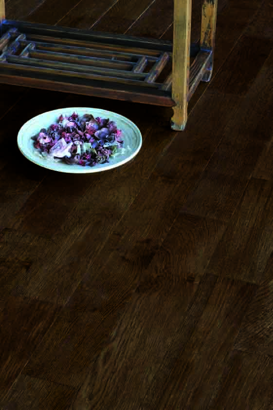 Cappuccino Brushed and Lacquered - Tuscan Flooring