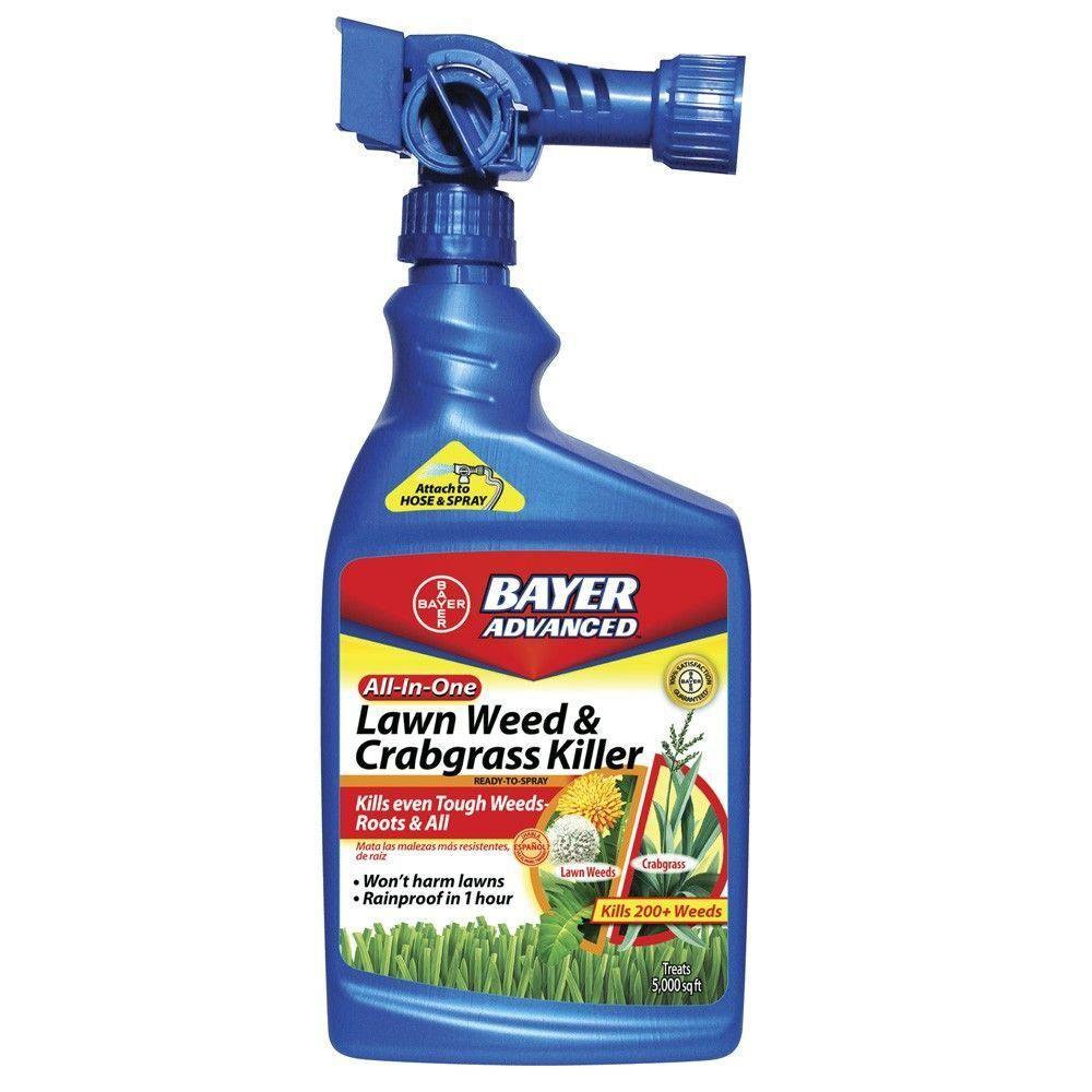 Bayer advanced oz readytospray allinone lawn weed and