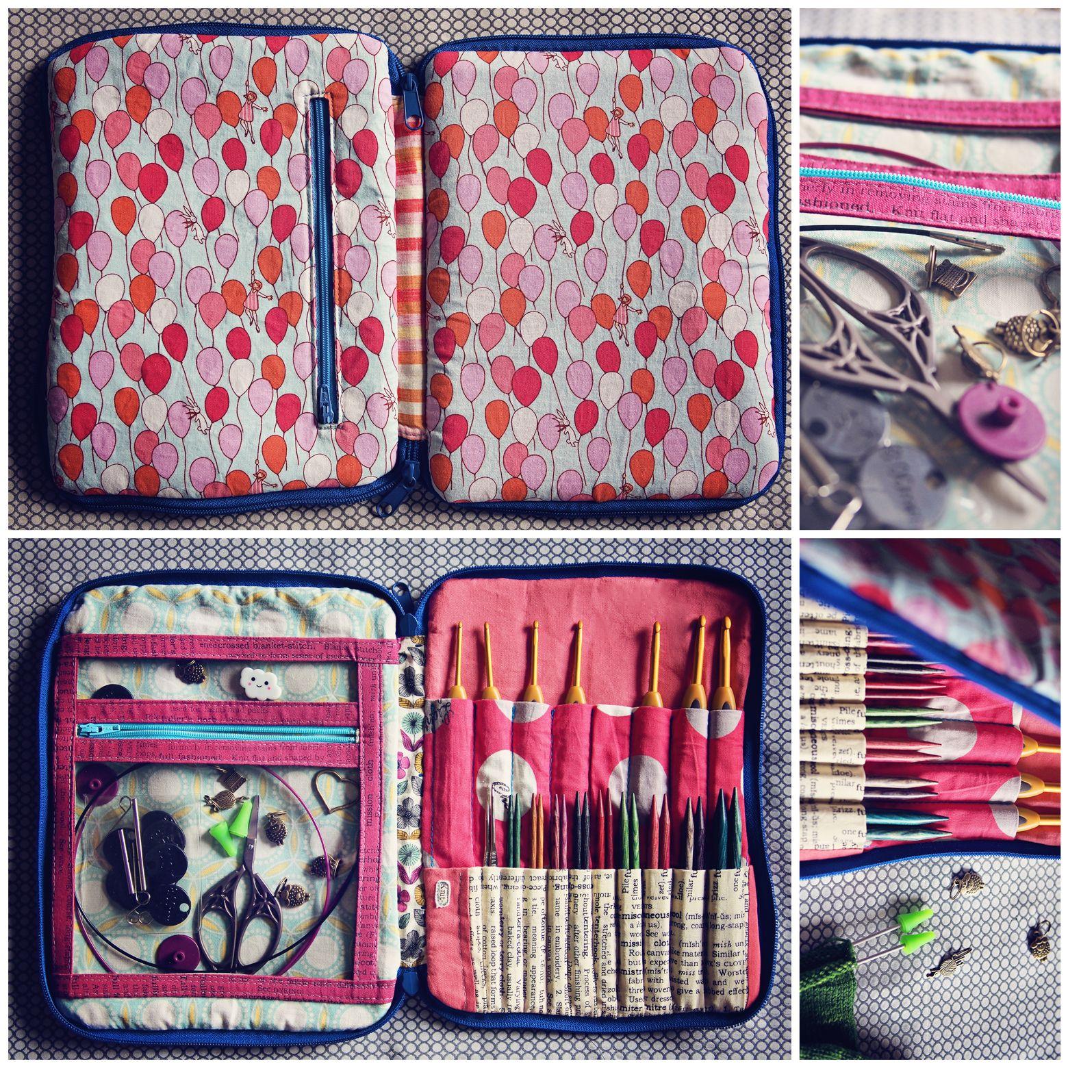 Creative Maker Supply Case | Knitting needle case, Diy ...