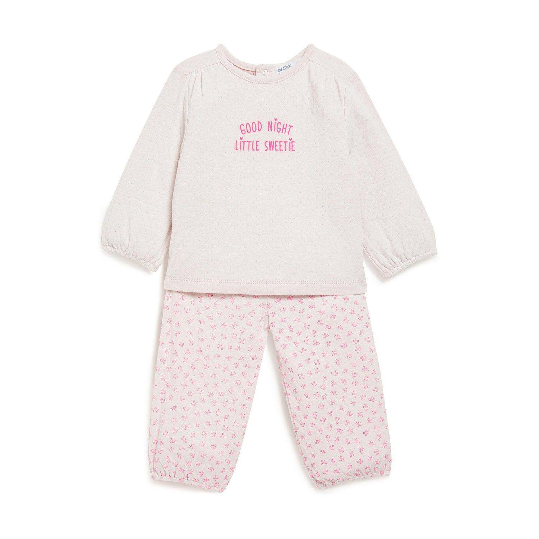 cf9f86e0b729b Bout Chou - Pyjama imprimé fleuris - Mixte bébé  Amazon.fr  Vêtements et  accessoires