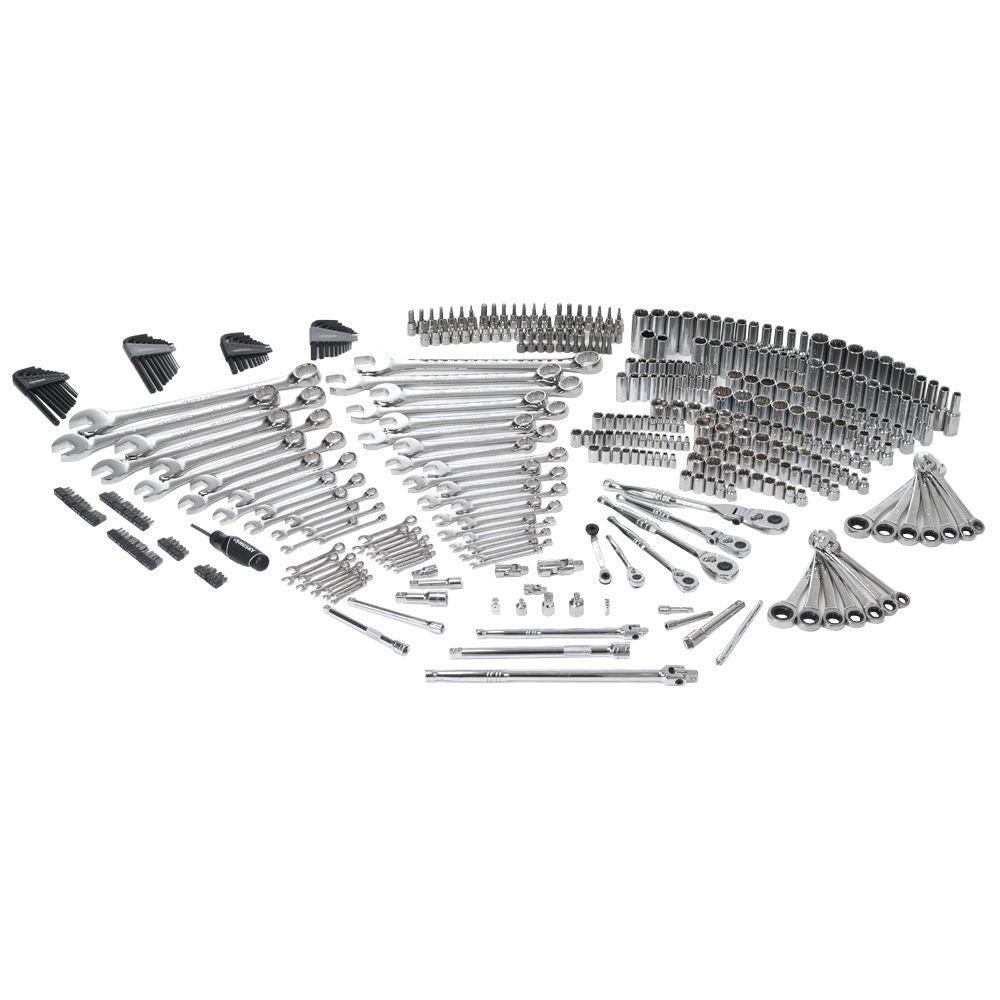 Husky Mechanics Tool Set (432-Piece) | Mechanic tools and Tool cart