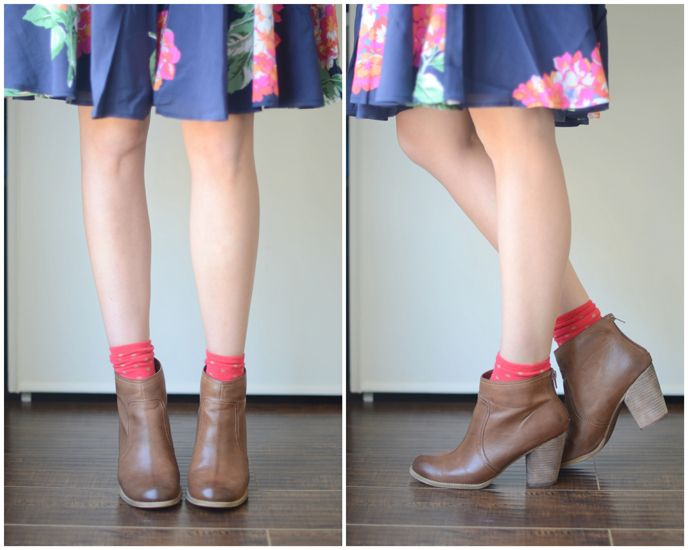 how to style your a line skirts and dresses with ankle
