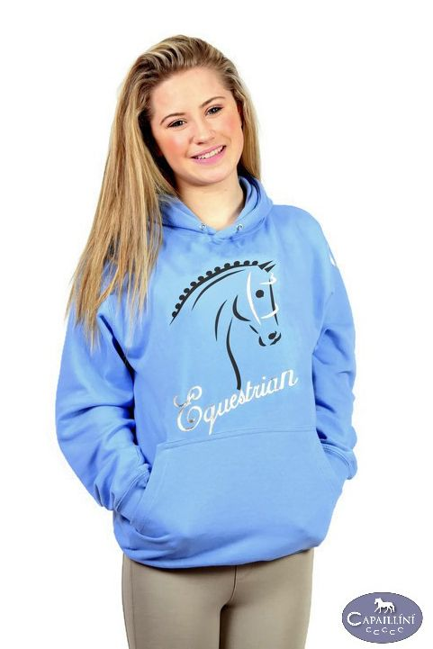 Horse Hoodie Equestrian Sports Horse Horse Riding