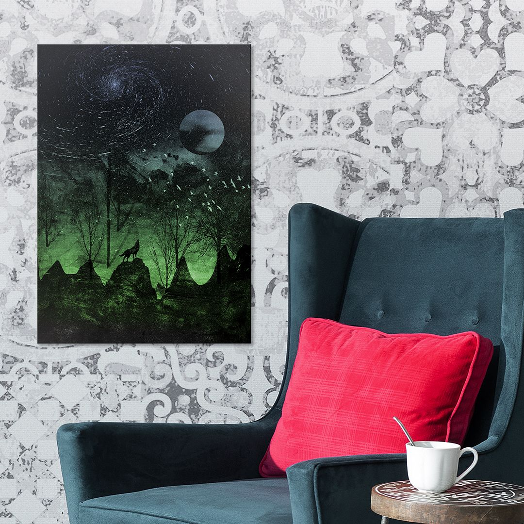 Evening Stars by Laurence Minoza   Displate thumbnail