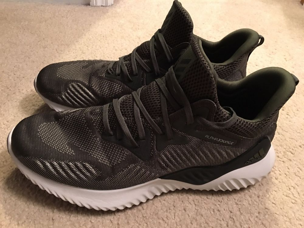 3aedc5737 Adidas Alpha Bounce Beyond Green Running Cross Training Men s Sz 12 Army  Green  fashion  clothing  shoes  accessories  mensshoes  athleticshoes  (ebay link)