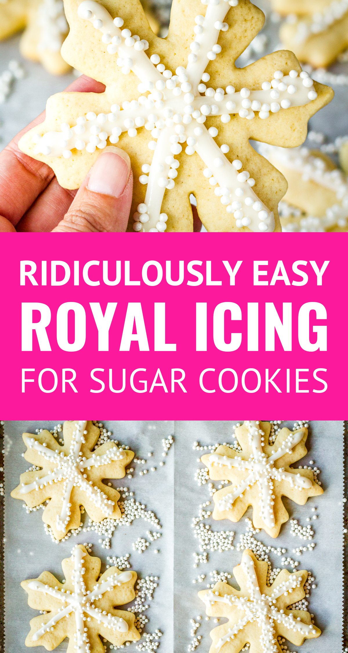Easy Royal Icing Recipe For Sugar Cookies This Easy Royal Icing