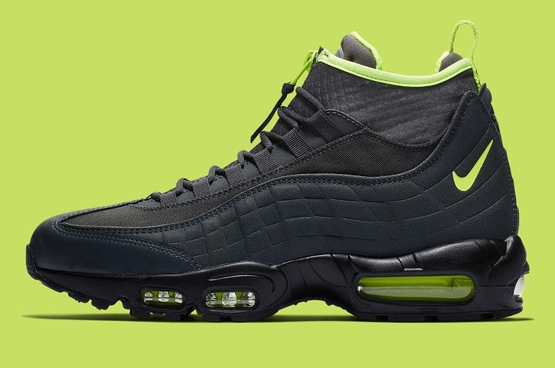 Nike Air Max 95 Sneakerboot Men's AnthraciteVolt Dark Grey