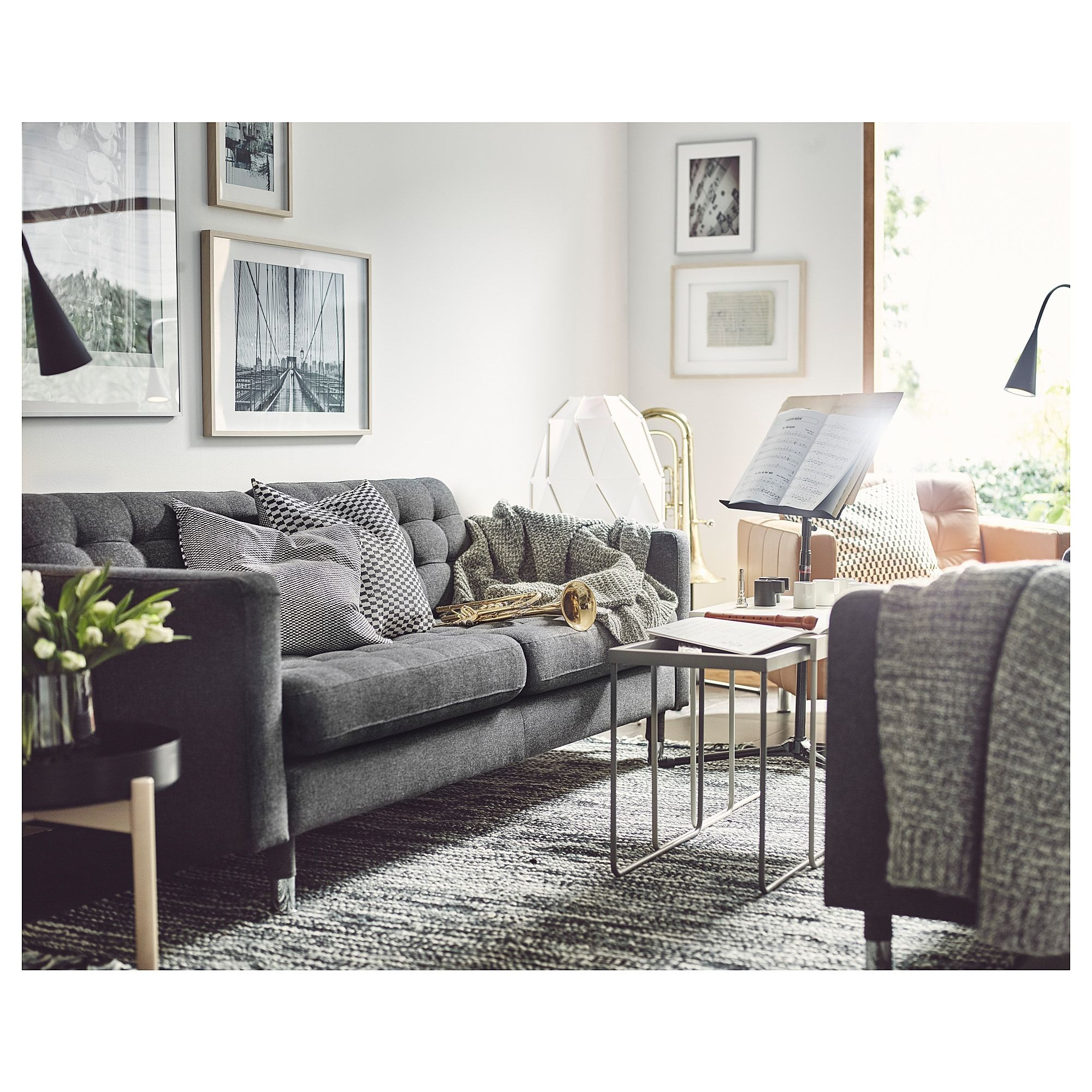 Best Furniture And Home Furnishings Landskrona Sofa Living 400 x 300